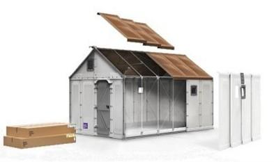 Casas prefabricadas sostenibles para los refugiados - Casas prefabricadas sostenibles ...